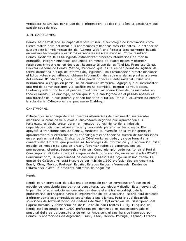 caso cemex Cemex indicó que tiene toda la intención de cooperar ampliamente con la comisión de valores de estados unidos, el departamento de justicia de este país y.