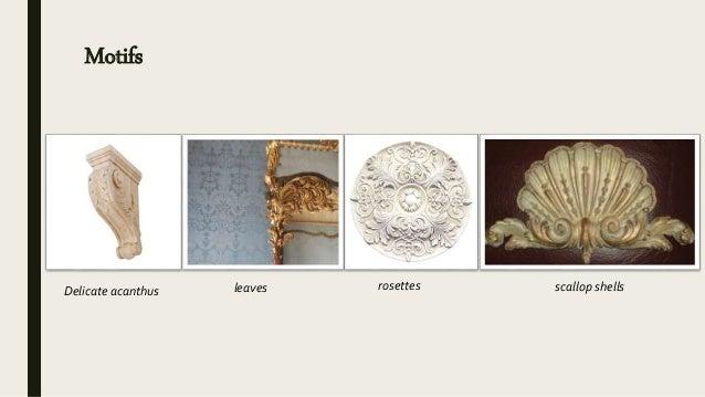 furniture motifs. Motifs Delicate Acanthus Leaves Rosettes Scallop Shells Furniture Motifs F