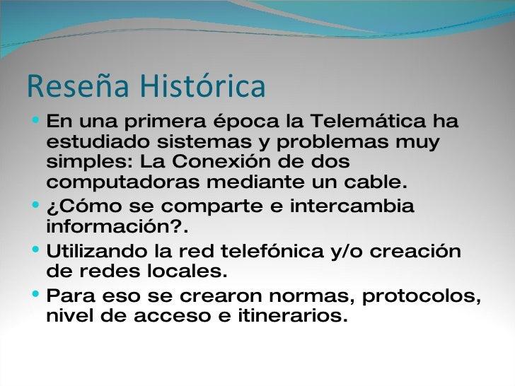 La Telematicay Educacion 1 Slide 2