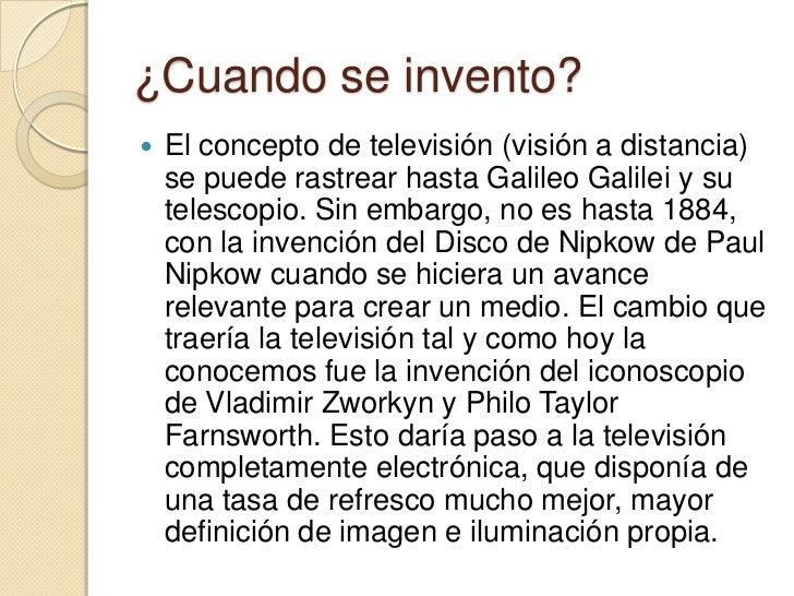 la televisi n
