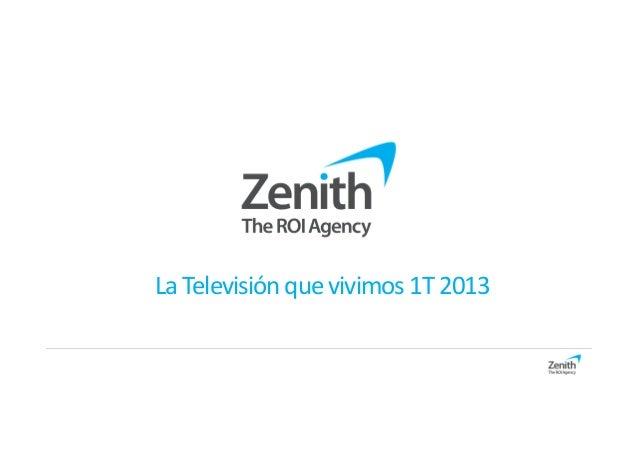 LaTelevisión quevivimos1T2013