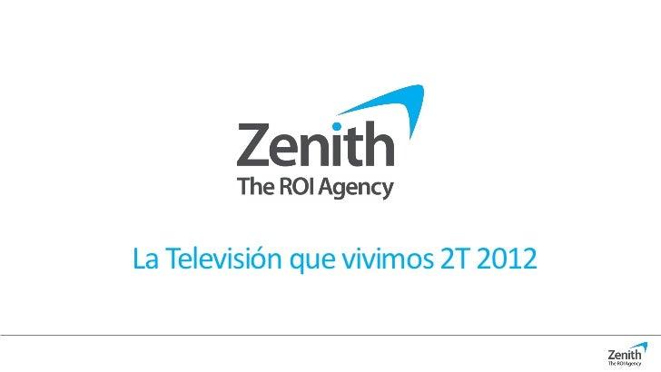 La Televisión que vivimos 2T 2012