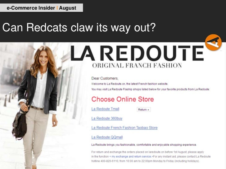 e-Commerce Insider I AugustCan Redcats claw its way out?