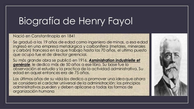 henry fayol 2 essay Henri fayol (29 july 1841 – 19 november 1925) was a french mining engineer,  mining  221 functions of management 222 principles of management.