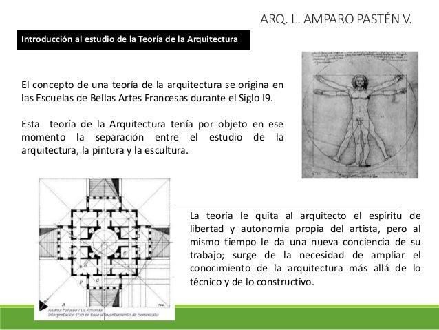 La teor a de la arquitectura su objeto importancia y for El concepto de arquitectura