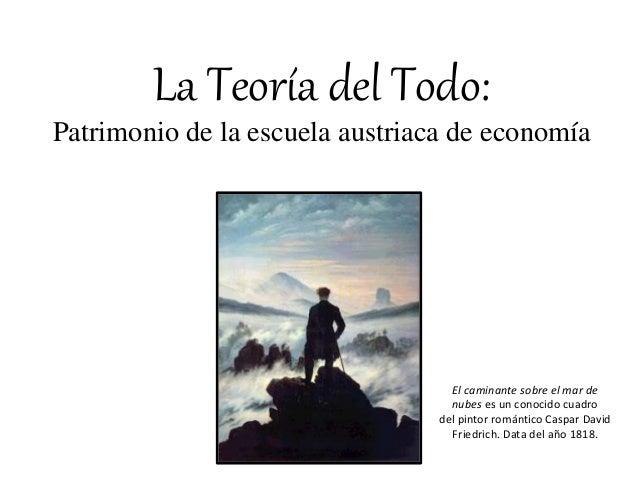 El caminante sobre el mar de nubes es un conocido cuadro del pintor romántico Caspar David Friedrich. Data del año 1818. L...
