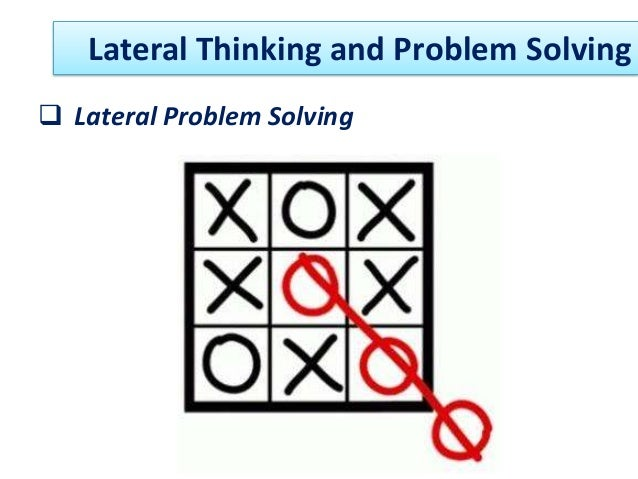 Lateral Thinking - Definition and Puzzles