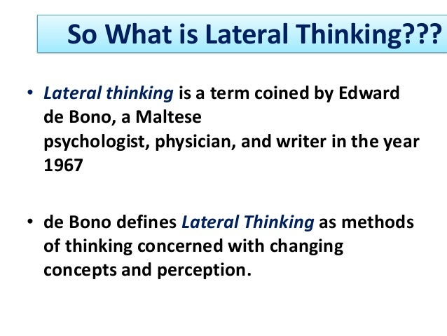 definition of thinking