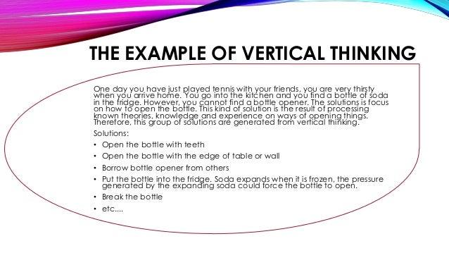 VERTICAL THINKING PDF