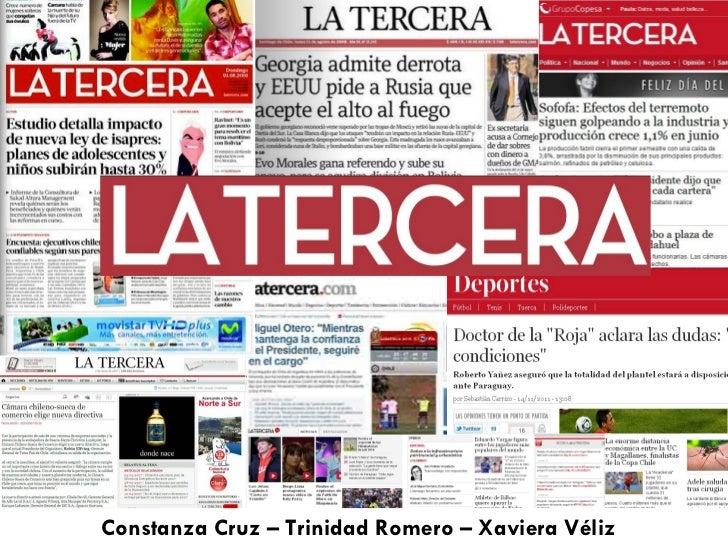 Constanza Cruz – Trinidad Romero – Xaviera Véliz