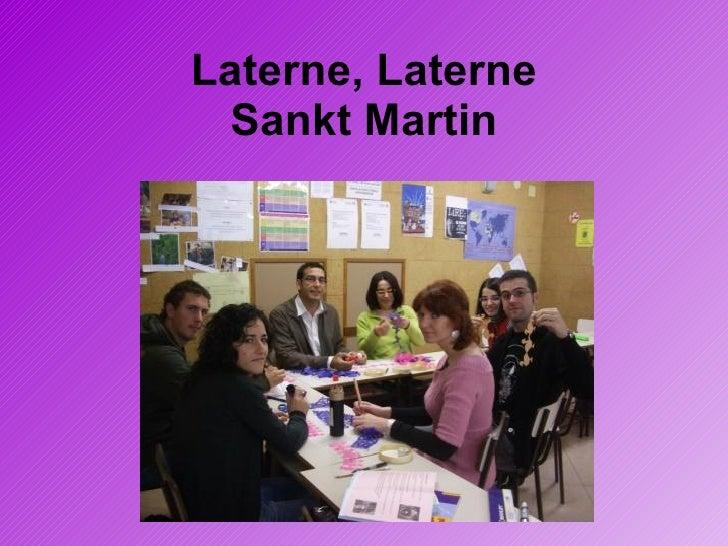 Laterne, Laterne Sankt Martin