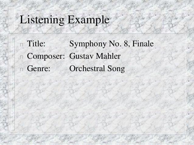 Late Romantic Music