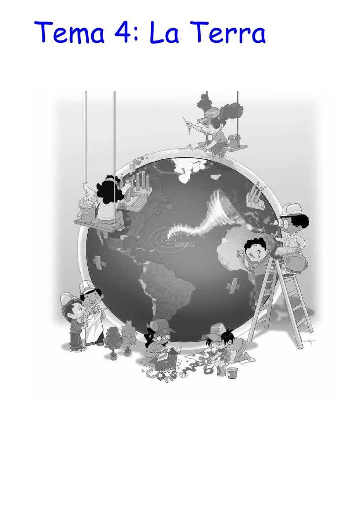 Tema 4: La Terra
