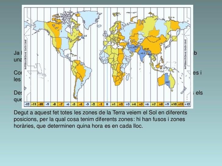 3. El moviment de rotacióJa hem vist que la Terra gira al voltant del seu propi eix, d'oest a est, i ambuna inclinació de ...