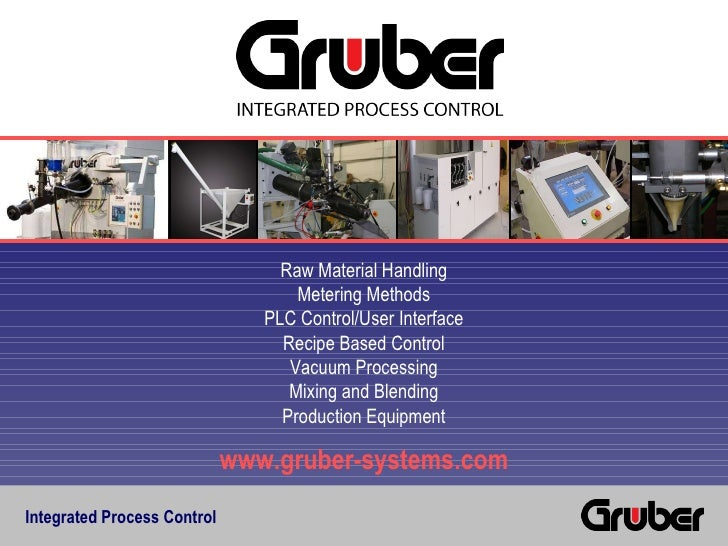 Integrated Process Control