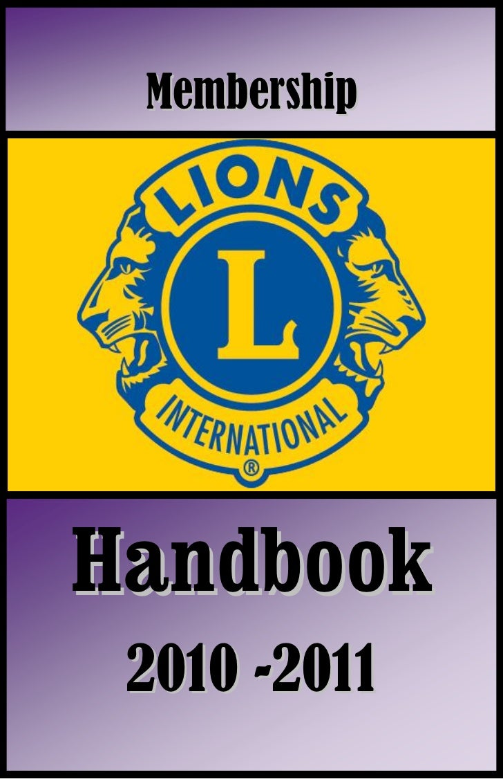 MembershipHandbook 2010 -2011     0