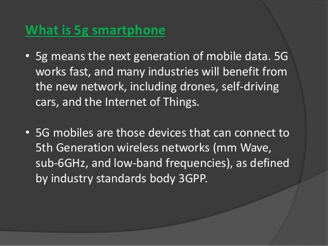 Latest 5 g smartphone Slide 2