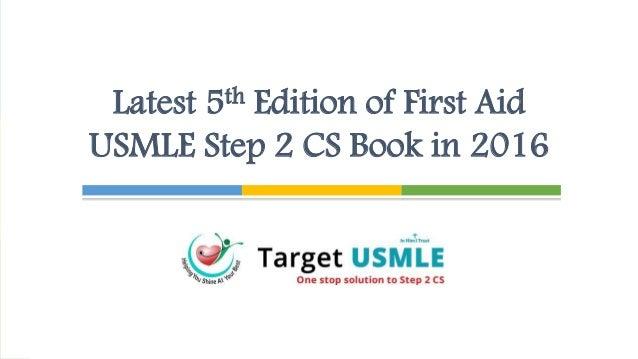First Aid Usmle Step 2 Cs 5th Edition Pdf