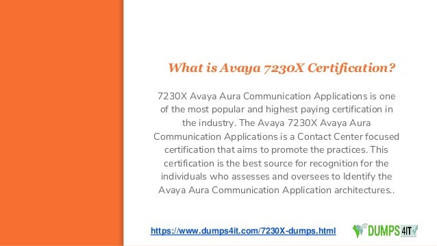 Latest avaya 7230 x acss specialist question answers material (2017)