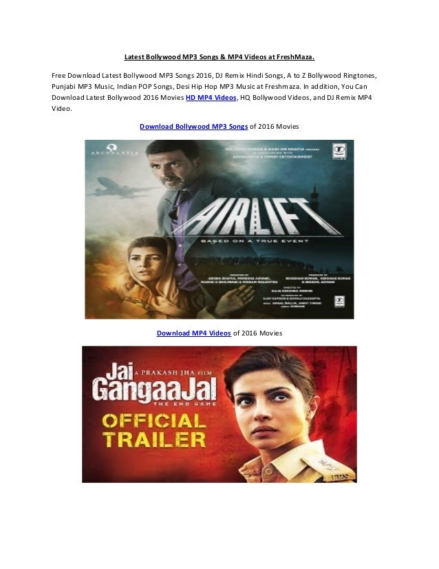 Latest bollywood video songs free download
