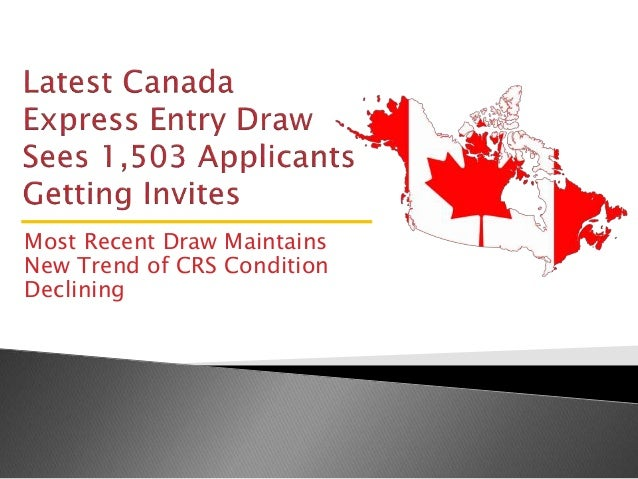 Latest Canada Express Entry Draw Sees 1,503 Applicants Getting Invites