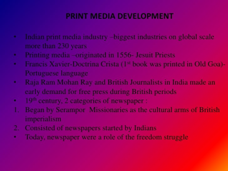 role of electronic media in india essay Free essays on role of electronic media in imparting education essay the study has explored and analyzed the role of electronic media in media of india.