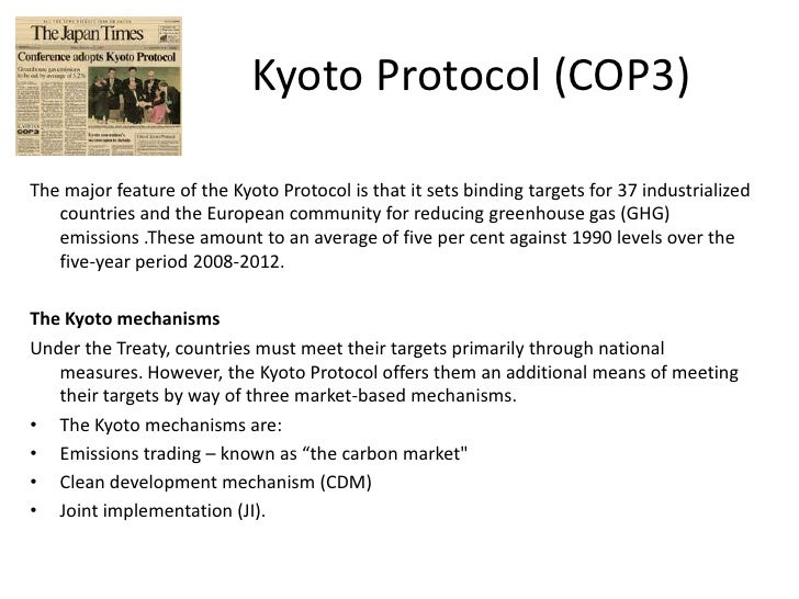 Criticism of the Kyoto Protocol
