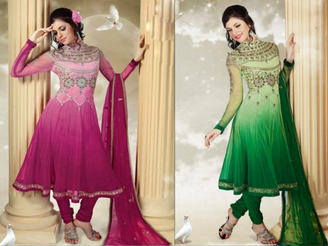 Get the best deals on latest Churidar Salwar Kameez + Free Shipping Enjoy Shopping With DesignerSareeSalwar.com www.Design...