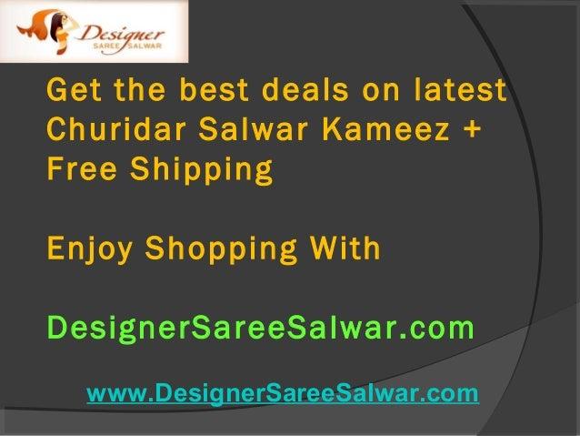 Latest Designer Churidar Salwar Kameez Collections ( Catalog 3607 ) at DesignerSareeSalwar