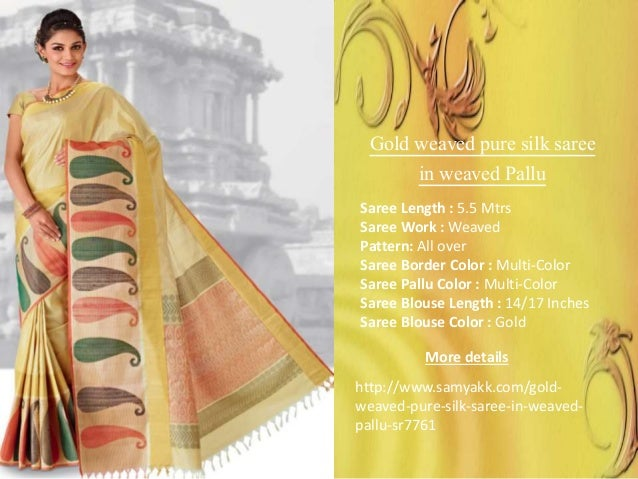 f4455d35ff11f ... http   www.samyakk.com gold- weaved-pure-silk-saree-in-weaved-  pallu-sr7761  5.