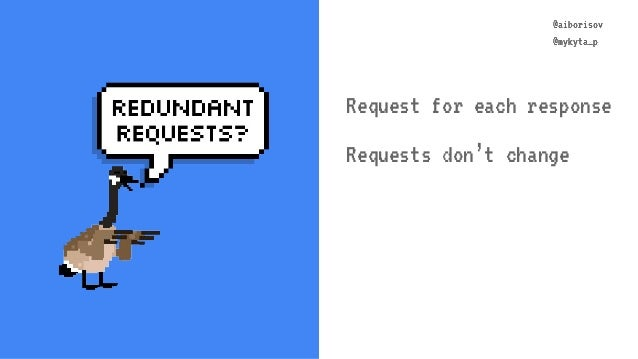 @aiborisov @mykyta_p @aiborisov @mykyta_p Request for each response Requests don't change