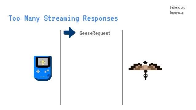 @aiborisov @mykyta_p Too Many Streaming Responses @aiborisov @mykyta_p GeeseRequest