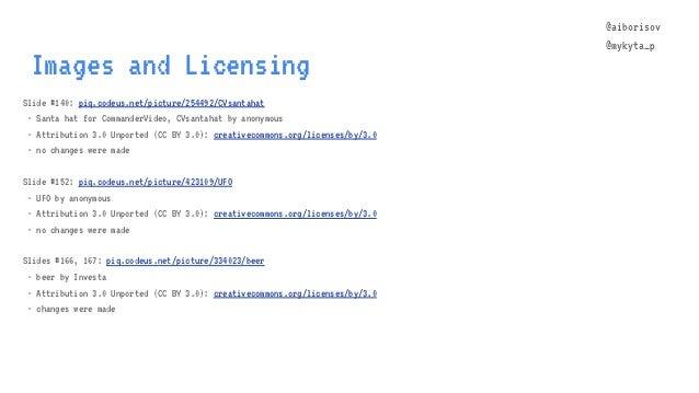 @aiborisov @mykyta_p Images and Licensing Slide #140: piq.codeus.net/picture/254492/CVsantahat - Santa hat for CommanderVi...