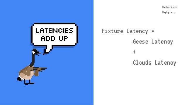@aiborisov @mykyta_p @aiborisov @mykyta_p Fixture Latency = Geese Latency + Clouds Latency