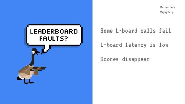 @aiborisov @mykyta_p @aiborisov @mykyta_p Some L-board calls fail L-board latency is low Scores disappear