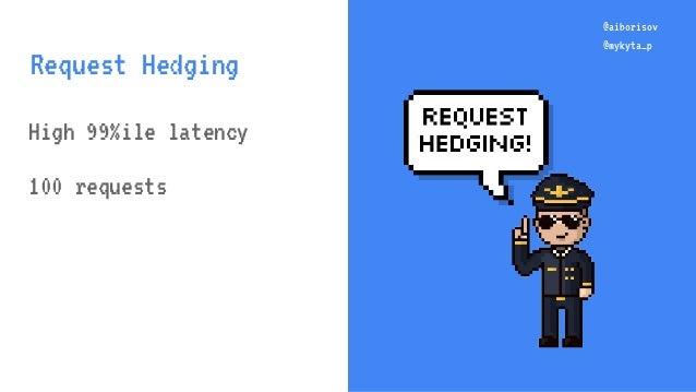 @aiborisov @mykyta_p High 99%ile latency 100 requests @aiborisov @mykyta_p Request Hedging