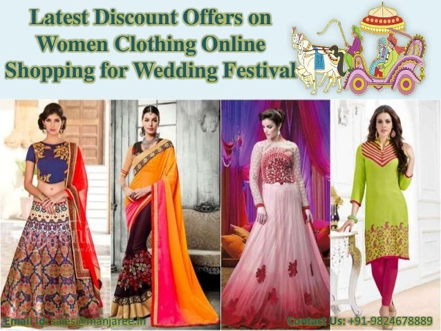 Latest discount offers on women clothing online shopping ...