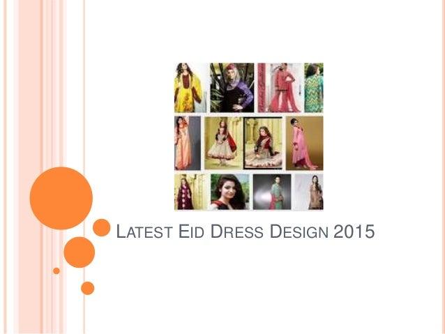 LATEST EID DRESS DESIGN 2015
