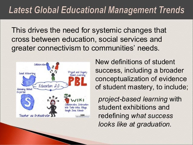 Five Trends for Schools