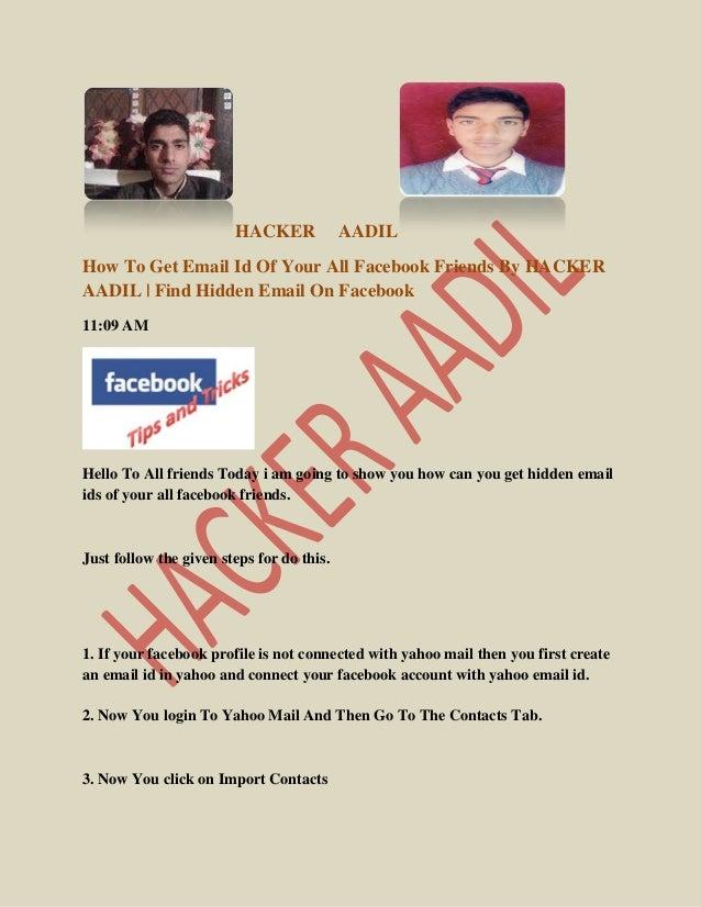 Latest hacking tricks by hacker aadil