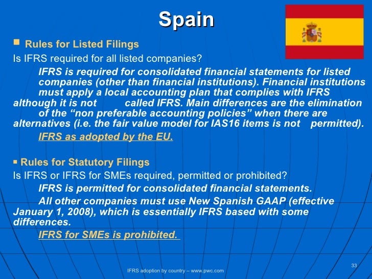 ifrs adoption in spain and the 1 the effects of ifrs adoption on the unconditional conservatism of spanish listed companies olga fullana international university of la rioja - spain.