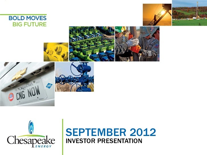 September 2012 Investor Presentation                                       SEPTEMBER 2012                                 ...