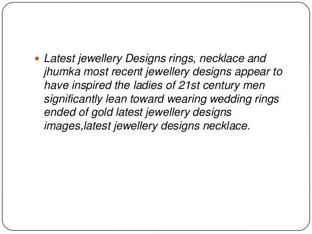 Latest jewellery designs 2015 Slide 2