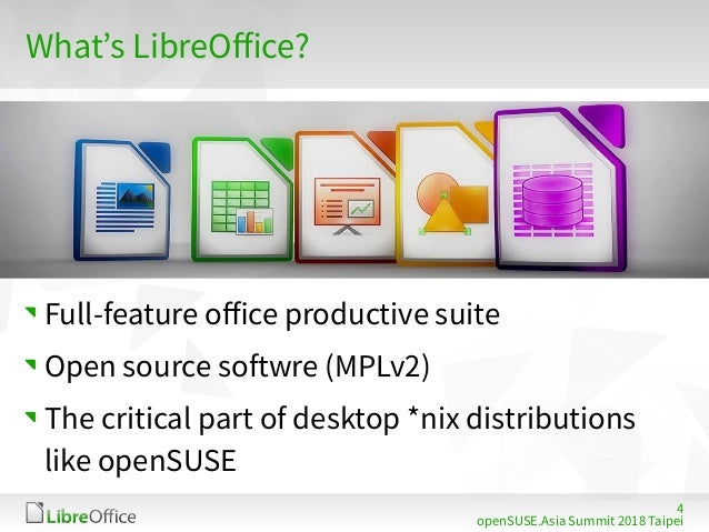 Using latest LibreOffice on openSUSE Leap 15 - by modern