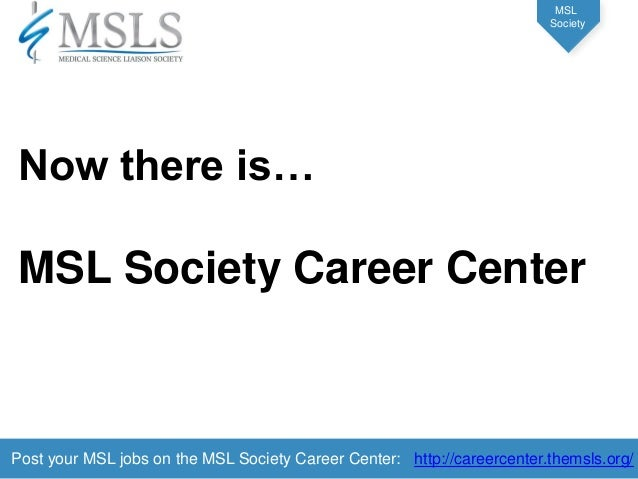 how to get a medical science liaison job