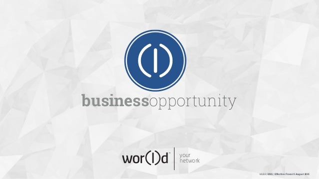 your network businessopportunity v1.2.1 | ENG | Effective From 15 August 2015