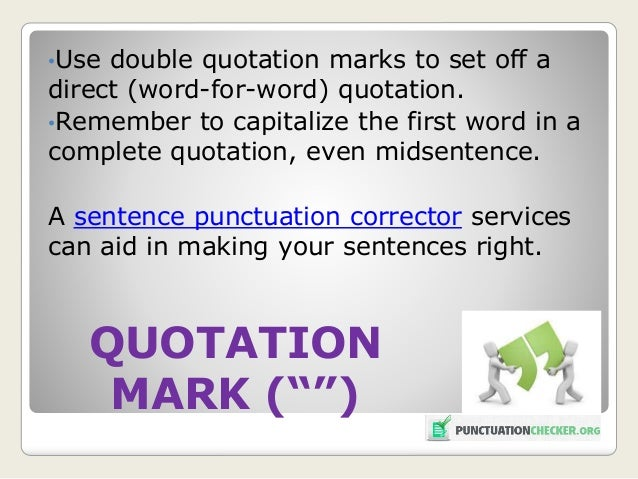No Is A Complete Sentence Quote: Latest Punctuation Check Rules: Update 2016