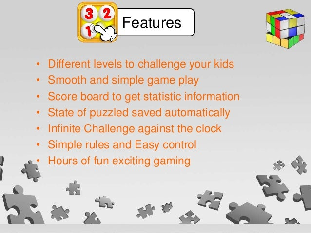 • Different levels to challenge your kids • Smooth and simple game play • Score board to get statistic information • State...
