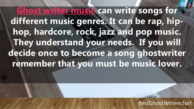 Find a ghostwriter jobs