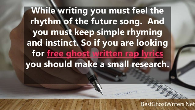 how to become a music ghostwriter If you become a ghostwriter call your local radio station and ask them for contacts that might help you become a hip-hop ghostwriter how to sell gospel music.